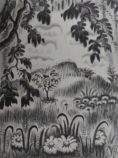 "Charles Ephraim Burchfield, '""Summer Benediction""', 1951-1952"