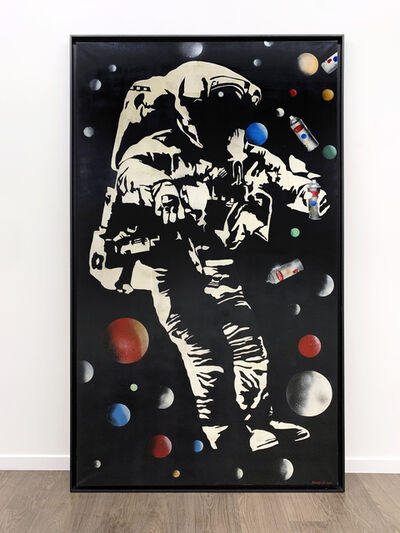 Blek le Rat, 'Space Odissey', 2015