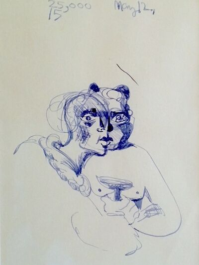 George Condo, 'Untitled', ca. 1995