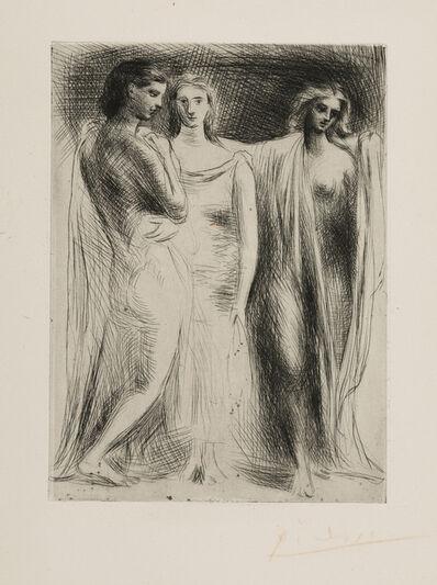 Pablo Picasso, 'Les Trois Femmes', 1924-1925
