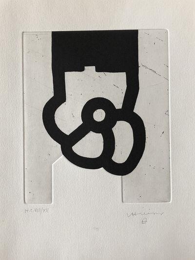 Eduardo Chillida, 'Untitled, From Jorge Semprún L'Écriture ou la vie (English edition) ', 1997