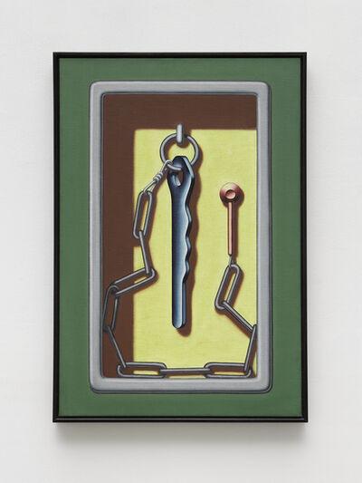 Konrad Klapheck, 'Der verhinderte Apostel', 1992