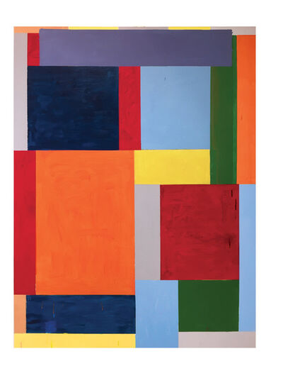 Thornton Willis, 'road block', 2020