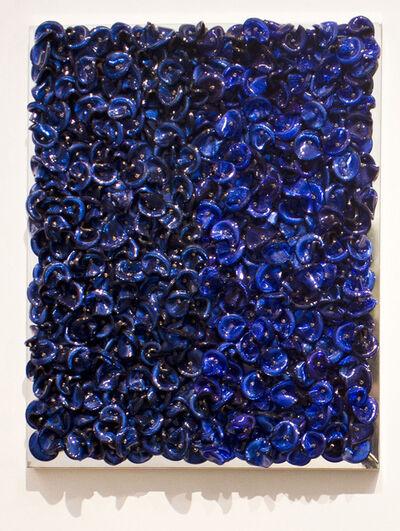Dani Marti, 'Blue on Blue (Dark)', 2019