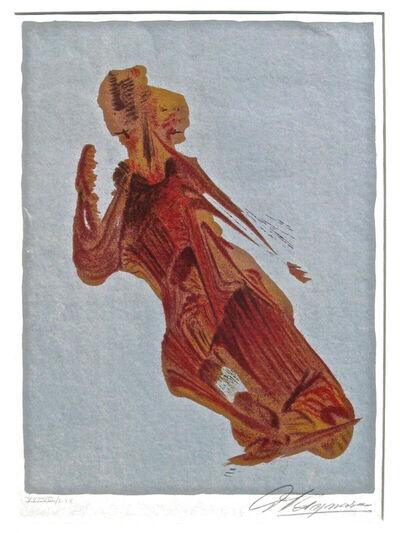 David Alfaro Siqueiros, 'Mujer', 1974