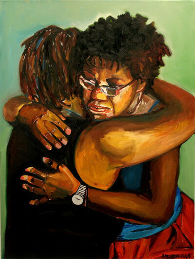 Beverly McIver, 'Embrace', 2005
