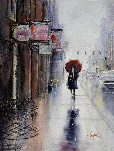 Judy Mudd, 'Red Umbrella', 2018
