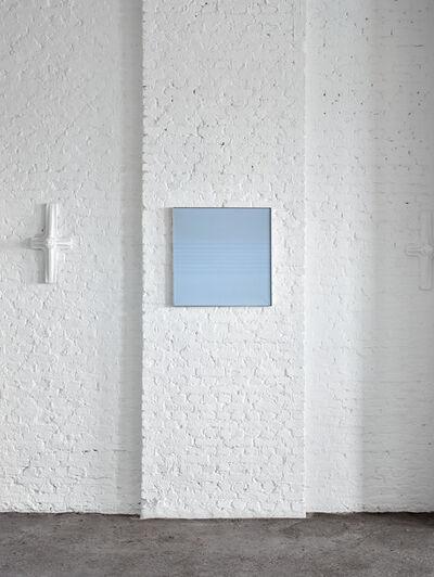 Raimund Girke, 'Blau', 1971