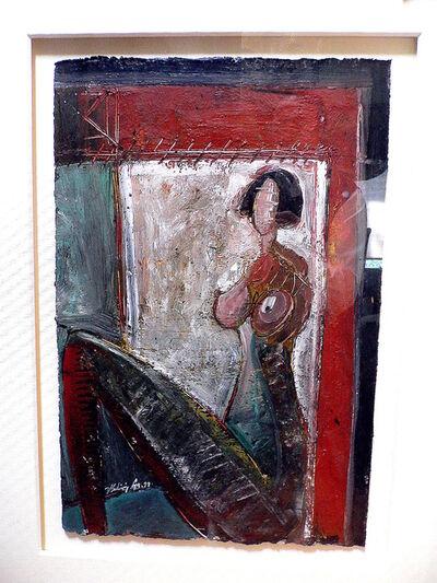 Vladimir Cora, 'Mujer en la ventana', 1999