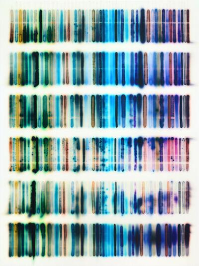 Jaq Chartier, 'BG, Blue, PB (w/lots of new formulas)', 2017