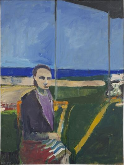 Richard Diebenkorn, 'Woman by the Ocean', 1956