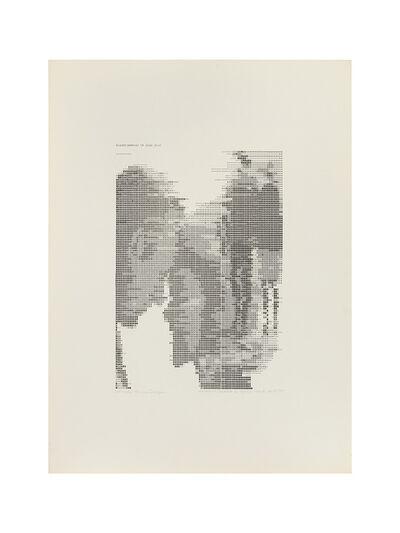 """Waldemar Cordeiro, '""""Derivadas de uma imagem: Transformação em Grau 0""""', 1971"""