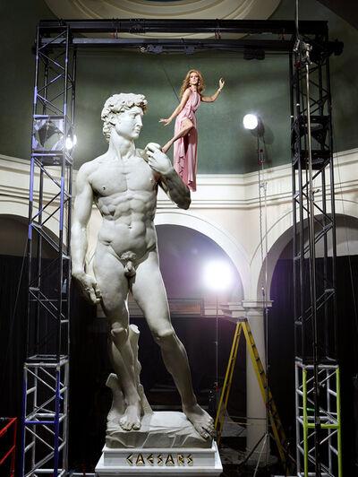 Martin Schoeller, 'Celine Dion with David, Las Vegas', 2014