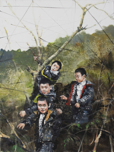 Li Tianbing, 'Branches game #4', 2020