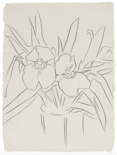 Andy Warhol, 'Orchids', 1983
