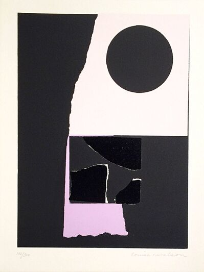 Louise Nevelson, 'Untitled, from the New York Portfolio for Stockholm', 1973
