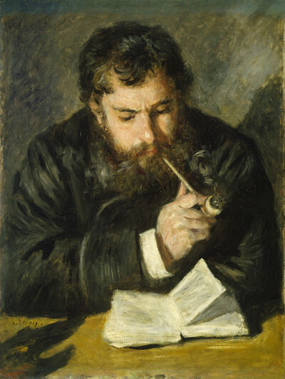 Pierre-Auguste Renoir, 'Claude Monet', 1872