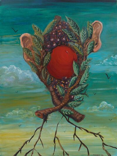 George Condo, 'Fruit Man', 1983