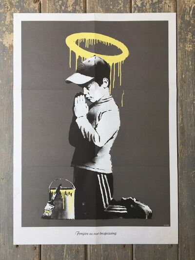 Banksy, 'Forgive Us Our Trespassing (Poster) ', 2010