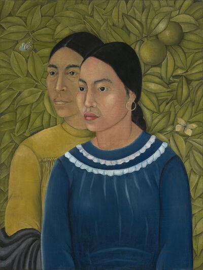 Frida Kahlo, 'Dos Mujeres (Salvadora y Herminia)', 1928