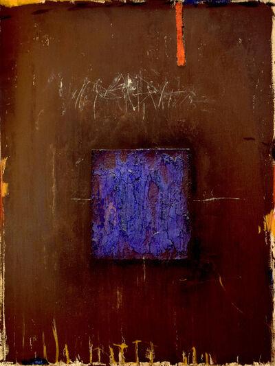 James Coignard, 'Bleu sur brun', 2019