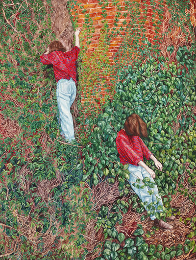 Monica Rohan, 'Sarah in the undergrowth', 2015