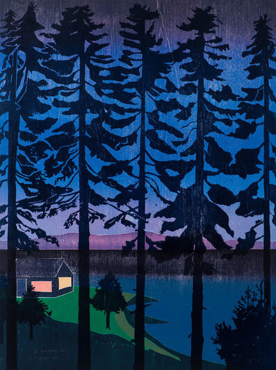 Tom Hammick, 'The Bay Coming In (homage to Harald Sohlberg)', 2016