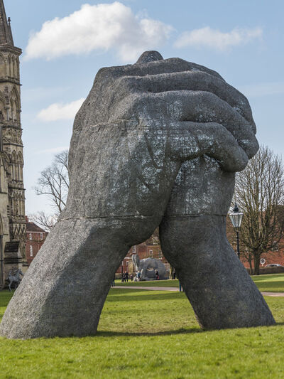 Sophie Ryder, 'The Kiss', 2009