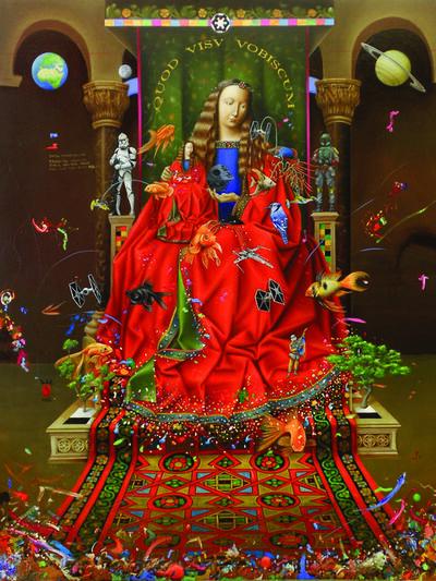 Mario Soria, 'Madonna pop Imperial', 2015