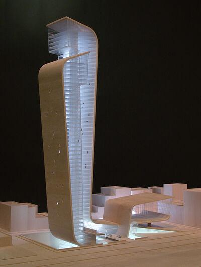 Hariri & Hariri Architecture, 'EMBRACING TOWERS- MUSEUM OF THE 21ST CENTURY', 2003