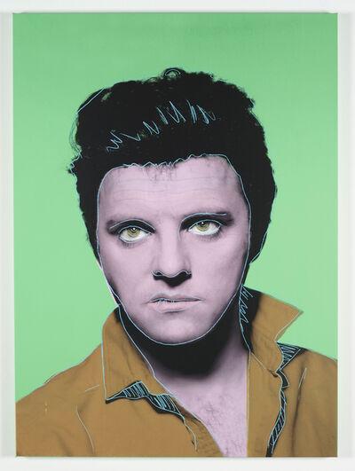 Gavin Turk, 'Rock Gunslinger Pale Green and Ochre', 2012