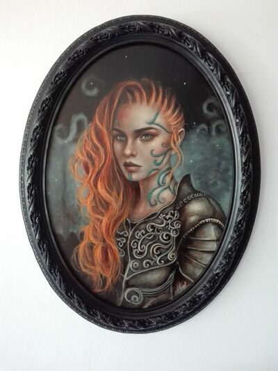 Ingrid Tusell, 'Boudica, The Warrior Queen', 2018