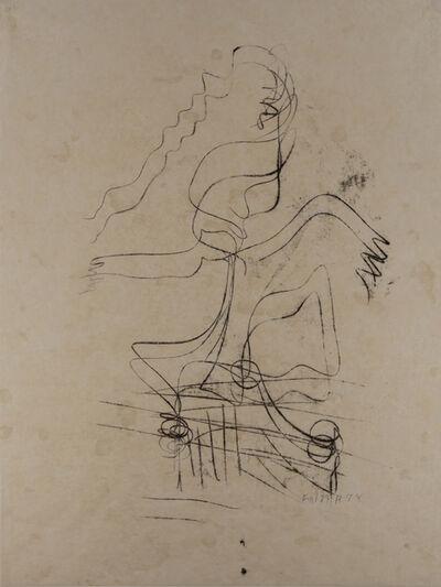 Fritz Winter, 'Ohne Titel (Weibliche Figur) (Untitled (Female figure))', 1929