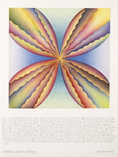 Judy Chicago, 'Childhood Rejection Drawing, from the Rejection Quintet', 1974