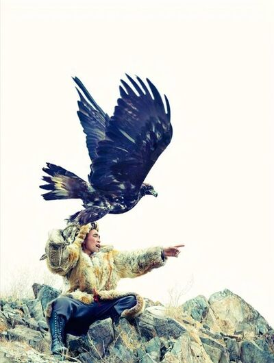 Lyle Owerko, 'Eagle Hunter 16'