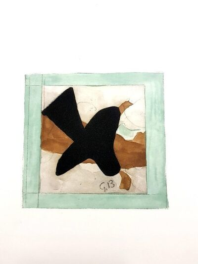 "Georges Braque, 'Original Lithograph ""The Bird"" by Georges Braque', 1965"