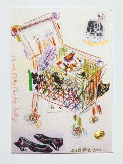 Conrad Atkinson, 'Sylvia Plath's Shopping Trolley', 2011