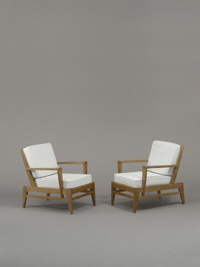 René Gabriel, 'Pair of armchairs', 1946