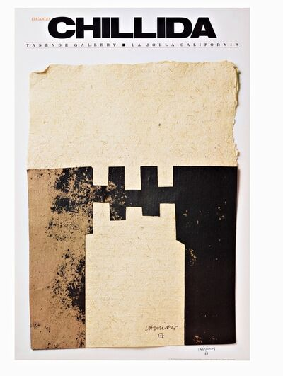 Eduardo Chillida, 'CHILLIDA (Hand Signed.) ', 1983