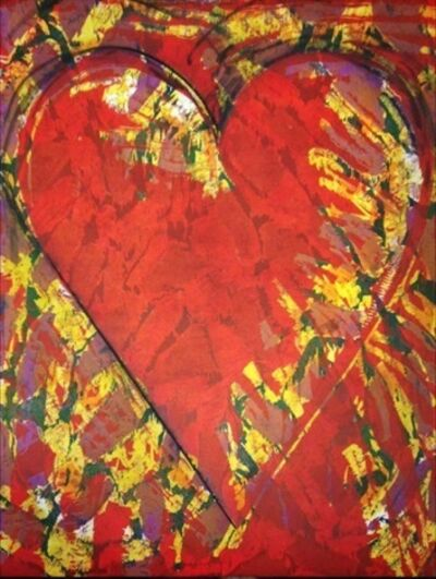 Jim Dine, 'The New Building', 2013