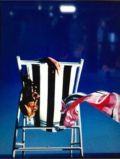 Gunter Sachs, 'Liegestuhl 2, Claudia Schiffer', 1991