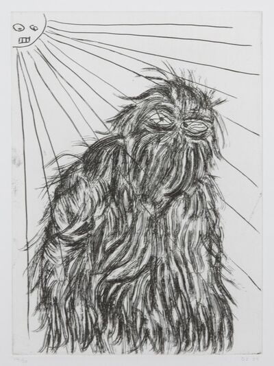 David Shrigley, 'Untitled [Hairy Monster]', 2009