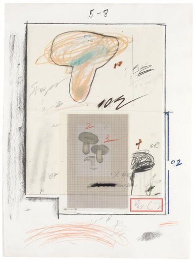 Cy Twombly, 'Mushrooms No. III (Bastian 44)', 1975-76