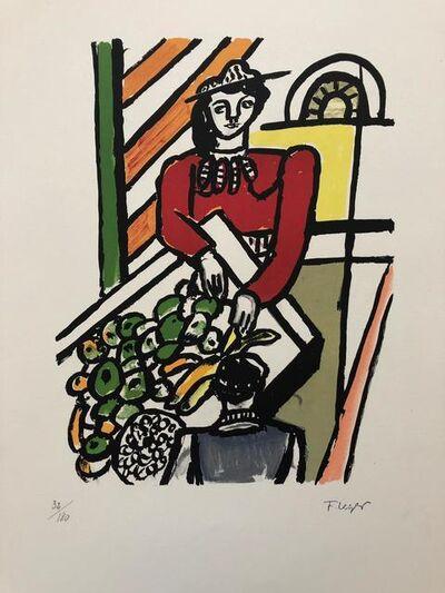 Fernand Léger, 'La marchande de quatre-saisons', 1959