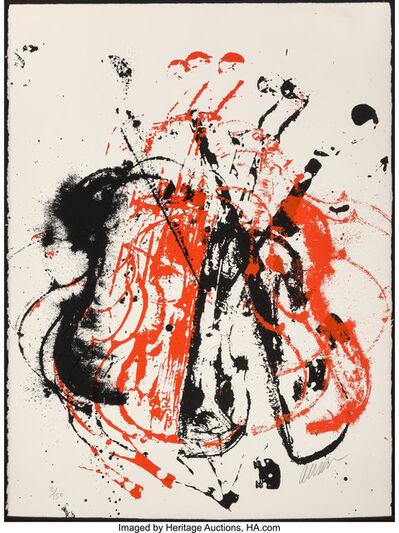 Arman, 'Violent Violins I', 1979