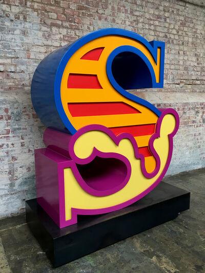 Ben Eine, 'S (Sculpture)', 2018