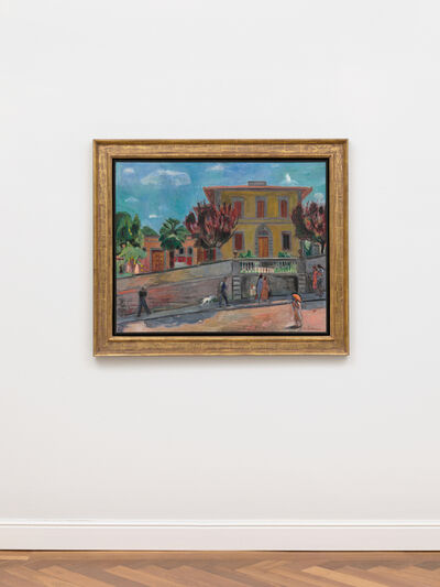 Hans Purrmann, 'Villino della Pera in der Via Senese', 1940