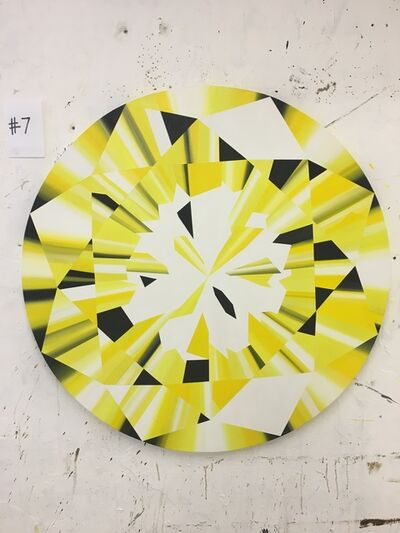 Kurt Pio, 'Yellow Round Diamond L', 2019
