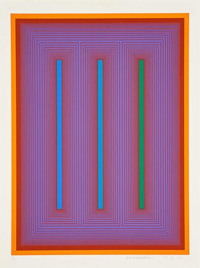 Richard Anuszkiewicz, 'Untitled (IX)', 1972