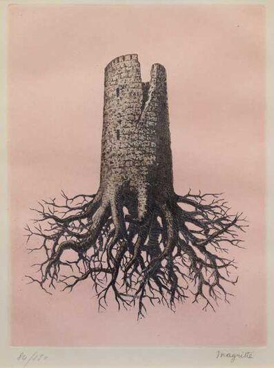 René Magritte, 'La Folie Almayer, (Plate III from Le Lien de Paille, by Louis Scutenaire)', 1968